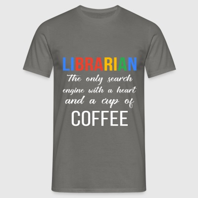 Library - Librarian - the only search engine with  - Men's T-Shirt