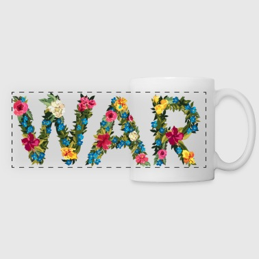 Flower war - Panoramic Mug
