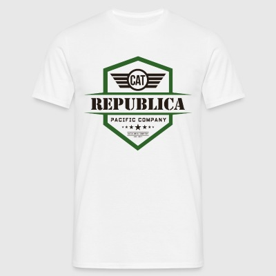 REPUBLICA CATALANA color - Camiseta hombre