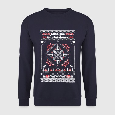 World Of Tanks Tank God It's Christmas - Herre sweater