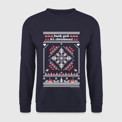 World Of Tanks Tank God It's Christmas - Mannen sweater