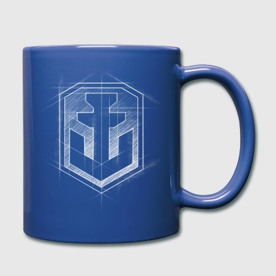 World of Warships Graphical Logo - Tazza monocolore