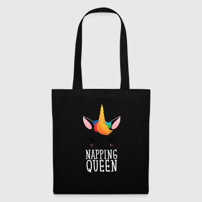 Napping Queen. Cute Unicorn Borse & Zaini - Borsa di stoffa