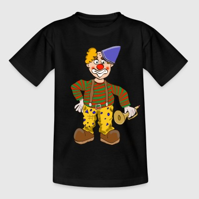 Karnevals Clown T-Shirts - Teenager T-Shirt