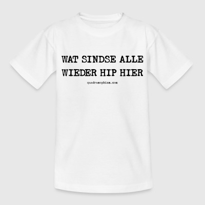 Hip hier - Kinder T-Shirt
