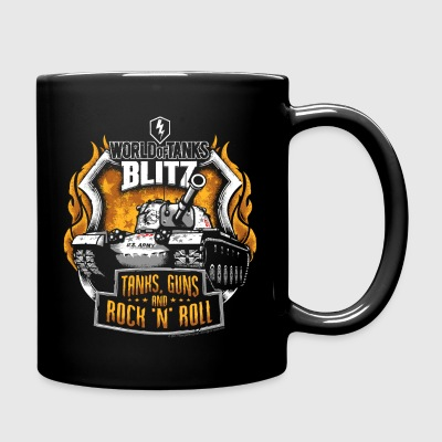 World Of Tanks Blitz Tanks Guns Rock'n'Roll - Full Colour Mug