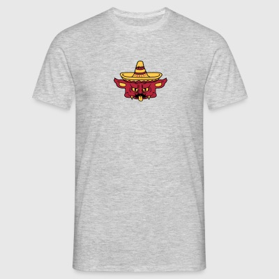 head face mustache mustache mexican hat sombrero s T-Shirts - Men's T-Shirt