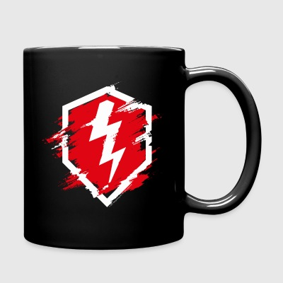 World Of Tanks Blitz Logo Used Look - Tasse einfarbig