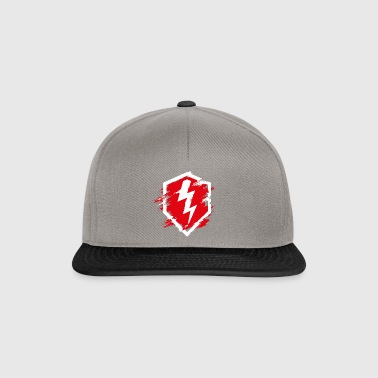 World Of Tanks Blitz Logo Used Look - Snapback Cap