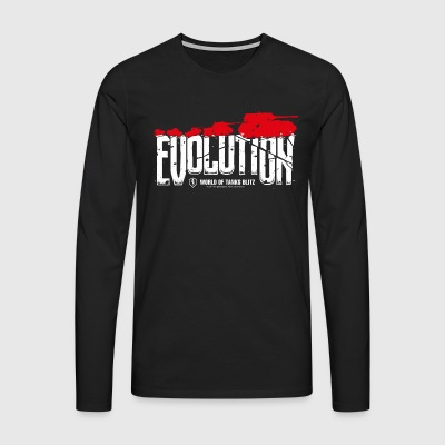 World Of Tanks Blitz Evolution - Men's Premium Longsleeve Shirt