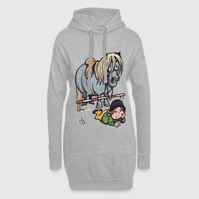 Thelwell Funny Showjumping Gone Wrong - Hoodie Dress