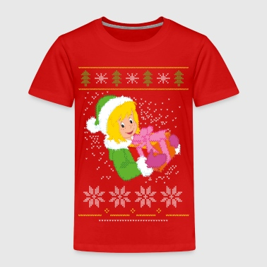 Bibi Blocksberg Ugly Sweater Design - Kinder Premium T-Shirt
