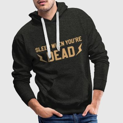 Hoodies SWYD Lightning Dark - Sweat-shirt à capuche Premium pour hommes
