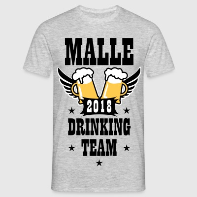 Malle 2018 Drinking Team Beer Bier Wings T-Shirt - Männer T-Shirt