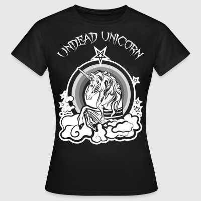 Undead Unicorn Black Edition - Frauen T-Shirt
