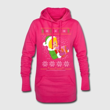 Bibi Blocksberg Ugly Sweater Design - Hoodie-Kleid