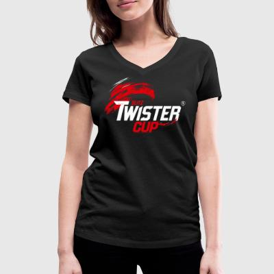 World Of Tanks Blitz Twister Cup Competition - Women's Organic V-Neck T-Shirt by Stanley & Stella