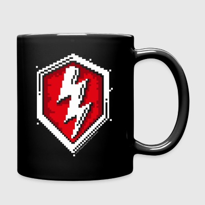 World Of Tanks Blitz 8 Bit Pixelated Logo - Full Colour Mug