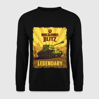 World Of Tanks Blitz Legendary Camouflage - Sweat-shirt Homme
