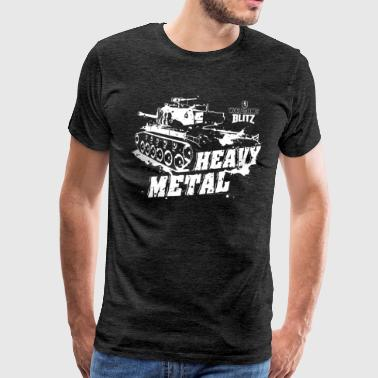 World Of Tanks Blitz Panzer Heavy Metal - Männer Premium T-Shirt