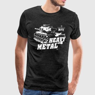World Of Tanks Blitz Heavy Metal - Miesten premium t-paita