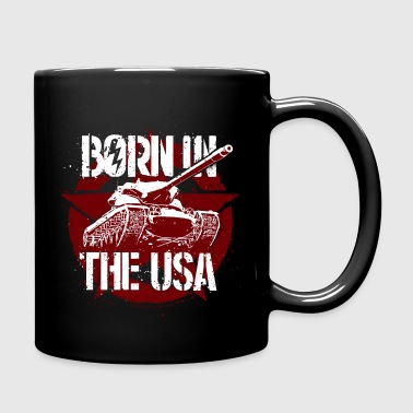 World Of Tanks Blitz Born In The USA - Tasse einfarbig