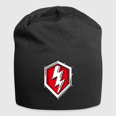 World Of Tanks Blitz 8 Bit Pixelated Logo - Jersey Beanie