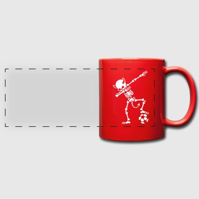 Dab Dabbing Rode Duivels / Diable Rouge soccer Mugs & Drinkware - Full Color Panoramic Mug