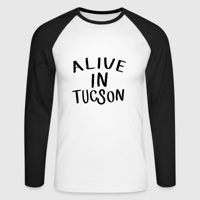 Alive in Tucson -Tandy Miller - Last man on earth Manches longues - T-shirt baseball manches longues Homme