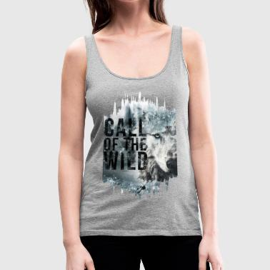 Call of the Wild Frauen Premium TankTop - Frauen Premium Tank Top
