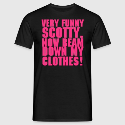 Very Funny Scotty - Men's T-Shirt