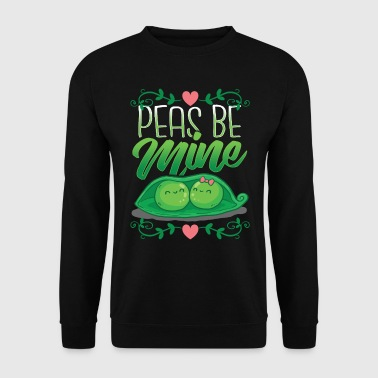Valentine's day Vegan Vegetarian gardeners gift Hoodies & Sweatshirts - Men's Sweatshirt