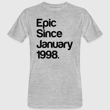 Epic Since January 1998. - 20 Jahre - Geburtstag T-shirts - Organic mænd