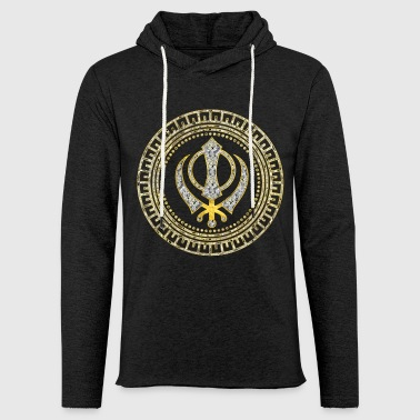 Khanda symbol Hoodies & Sweatshirts - Light Unisex Sweatshirt Hoodie