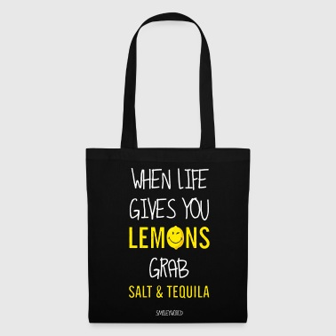 SmileyWorld Tequila Life Gives You Lemons - Stoffbeutel