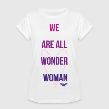 DC Comics We Are All Wonder Woman - Vrouwen oversize T-shirt