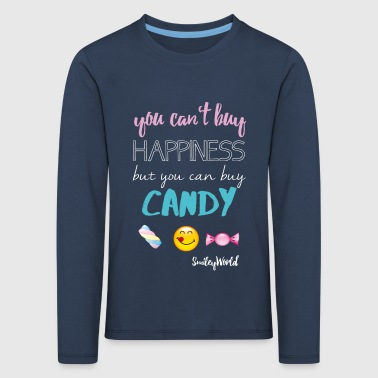 SmileyWorld But You can buy Candy - Kids' Premium Longsleeve Shirt