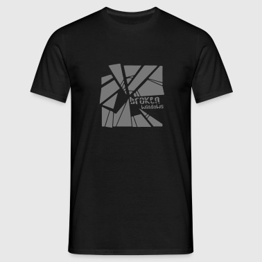 Broken Windows Band! - Men's T-Shirt