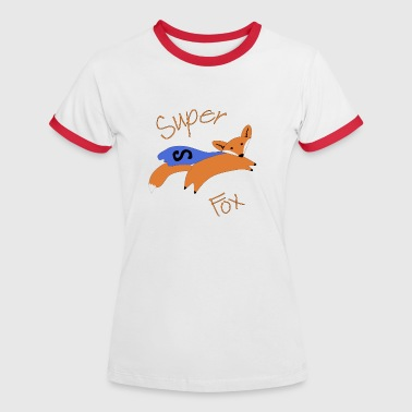 Super Fox  - Women's Ringer T-Shirt