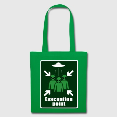 Alien Evacuation Point - Tote Bag