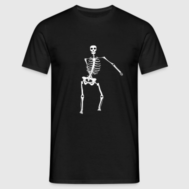 Swish Swish Dance Skeleton T-Shirts - Men's T-Shirt