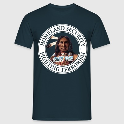 Homeland Security 1492 - Männer T-Shirt