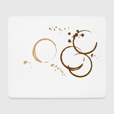 Coffee, coffee stains. Fun Design  Other - Mouse Pad (horizontal)