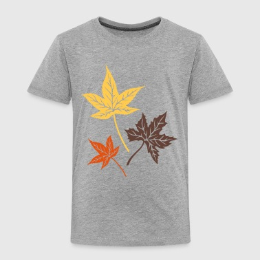 Leaves from the maple, Indian summer, Canada. Shirts - Kids' Premium T-Shirt