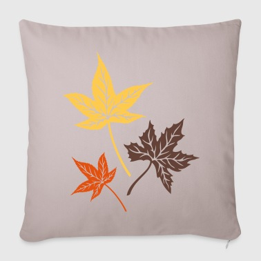 Leaves from the maple, Indian summer, Canada. Other - Sofa pillow cover 44 x 44 cm