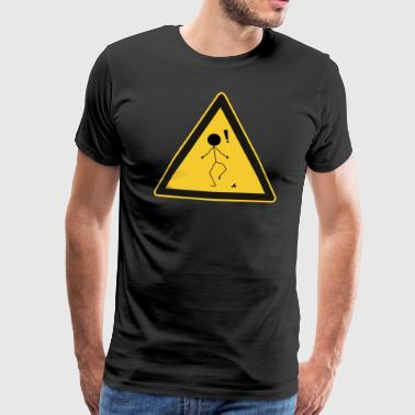 Warning: ..it Happens - Men's Premium T-Shirt