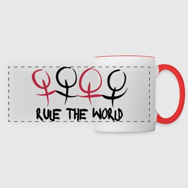 Women & Girls Rule The World Tazas y accesorios - Taza panorámica