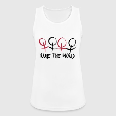 Women & Girls Rule The World Tops - Women's Breathable Tank Top
