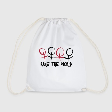 Women & Girls Rule The World Bags & Backpacks - Drawstring Bag