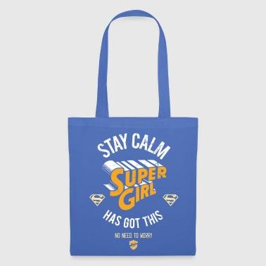 DC Comics  Has Got This - Tote Bag